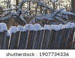 Snow In Rural Areas. Rural...