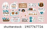 collection of inspirational... | Shutterstock .eps vector #1907767726