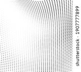 abstract halftone wave dotted... | Shutterstock .eps vector #1907777899
