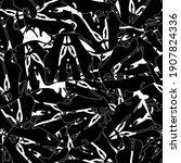 seamless black and white... | Shutterstock .eps vector #1907824336