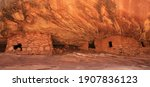 Cliff Dwellings In Mule Canyon  ...