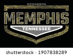 Memphis Tennessee.Vintage and typography design in vector illustration.Clothing,t-shirt,apparel and other uses.Eps10