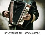 the musician playing the... | Shutterstock . vector #190783964