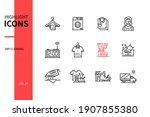 dry cleaning   line design...   Shutterstock .eps vector #1907855380