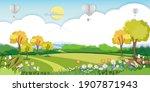 vector illustration.paper cut...   Shutterstock .eps vector #1907871943