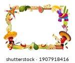 cinco de mayo vector frame ... | Shutterstock .eps vector #1907918416