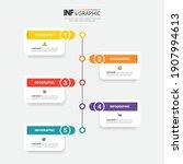 infographics design template ... | Shutterstock .eps vector #1907994613