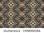 bandana print. vector seamless...   Shutterstock .eps vector #1908000286