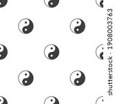 yin yang seamless background....   Shutterstock .eps vector #1908003763