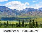 Picturesque Mountains Of Alaska ...