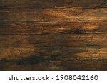 Vintage Brown Wood Background...