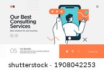 professionals customer support... | Shutterstock .eps vector #1908042253