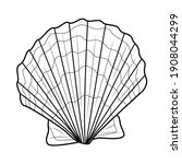 Sea Shell.coloring Book  For...