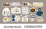 collection of inspirational...   Shutterstock .eps vector #1908065590