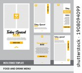 set of editable minimal square...   Shutterstock .eps vector #1908094099