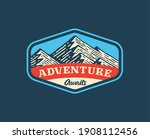 logo badge of mountain and...   Shutterstock .eps vector #1908112456