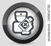 medical bottle   Shutterstock .eps vector #190816730