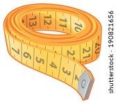 measuring tape | Shutterstock .eps vector #190821656
