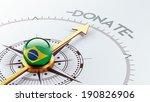 brazil high resolution donate...   Shutterstock . vector #190826906