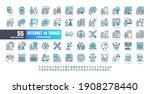64x64 pixel perfect. internet... | Shutterstock .eps vector #1908278440