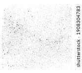 grunge grain texture. vector... | Shutterstock .eps vector #1908304783