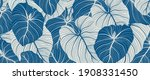 luxury nature leaves background ...   Shutterstock .eps vector #1908331450