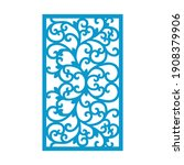 laser and cnc cutting pattern... | Shutterstock .eps vector #1908379906