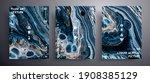 abstract vector poster  set of... | Shutterstock .eps vector #1908385129