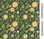vector seamless pattern. hand... | Shutterstock .eps vector #1908403633