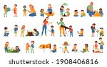 nature study color set of... | Shutterstock .eps vector #1908406816