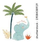Cute Baby Elephant Nursery...