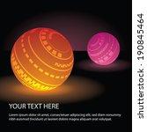 Abstract Globe Design - stock vector