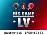 football big game sunday   two...   Shutterstock .eps vector #1908463633