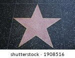 blank star on the hollywood... | Shutterstock . vector #1908516
