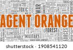 agent orange vector... | Shutterstock .eps vector #1908541120