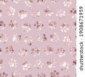 seamless pattern pet prints....   Shutterstock .eps vector #1908671959