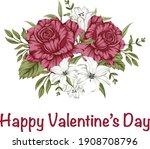 happy valentine's day  14th... | Shutterstock . vector #1908708796