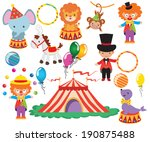 circus vector colorful