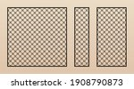 laser cut panel collection.... | Shutterstock .eps vector #1908790873