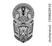tattoo tribal abstract sleeve ... | Shutterstock .eps vector #1908828910