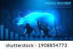 concept art of bearish in...   Shutterstock .eps vector #1908854773