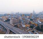 Aerial View Of Obalende  Lagos  ...