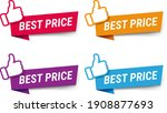 best price labels set isolated... | Shutterstock .eps vector #1908877693