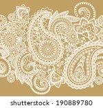 seamless pattern based on... | Shutterstock .eps vector #190889780