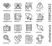 love icons vector illustration  ... | Shutterstock .eps vector #1908912823