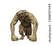 Troll Fantasy Creature With...