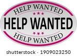 help wanted sign  emblem  label ...