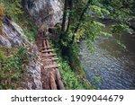 Tourist Path Along River Hornad ...