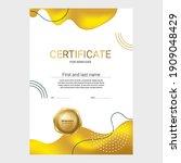 award certificate design ... | Shutterstock .eps vector #1909048429