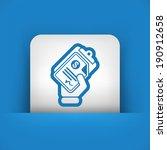 money document icon | Shutterstock .eps vector #190912658